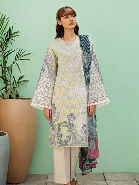 BeechTree Eid Collection ii Lucent Shadow (Lawn - 3 Piece)
