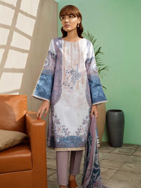 BeechTree Eid Collection ii Mauve Amity (Lawn - 3 Piece)