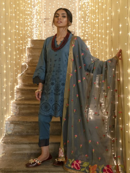 Ethnic by Outfitters Mahrosh Boutique suit (Shirt + Dupatta) WTB391531-10216001-AS-175