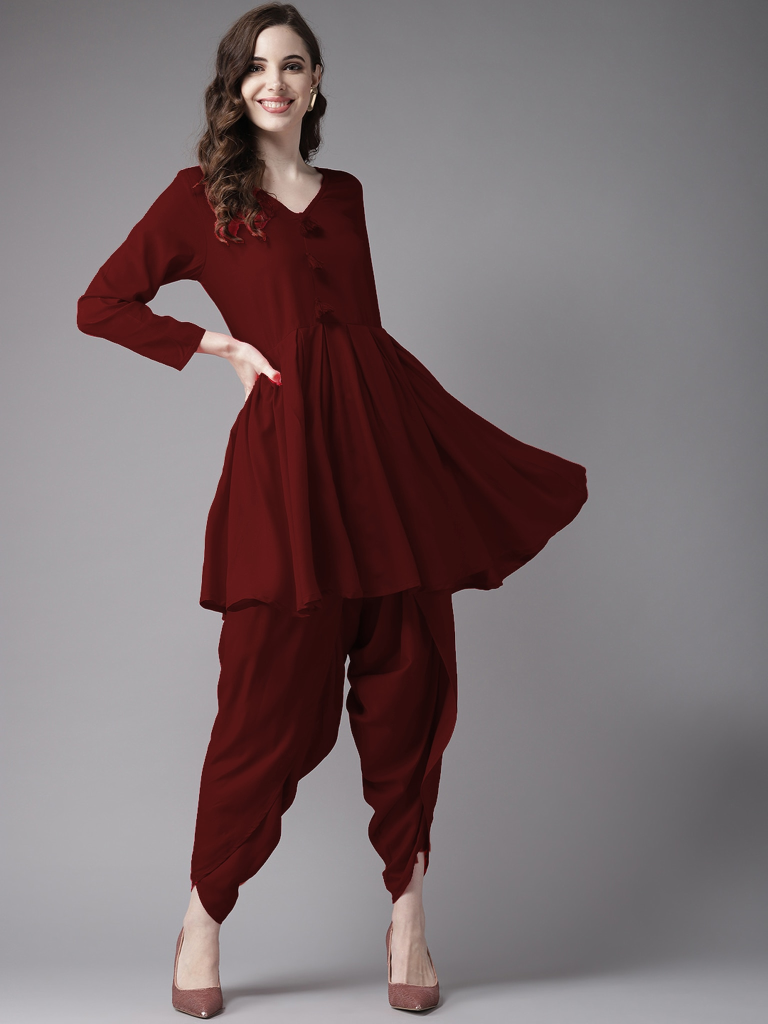 /2019/07/fifth-avenue-womens-tps237-tassel-detail-kurti-and-dhoti-pants-set-maroon-image1.jpeg