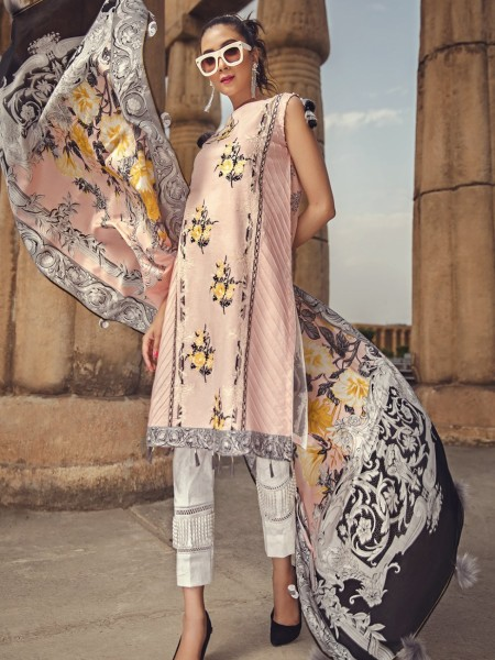 House of Ittehad Mid Summer Ethnics CHINTZ ROSE