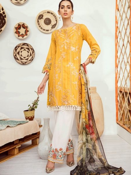 Iznik Chinon Lawn Vol 3 ICL-01 Citrus (3PC)