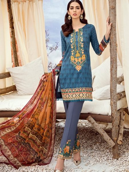 Iznik Chinon Lawn Vol 3 ICL -03 Faience (3PC)