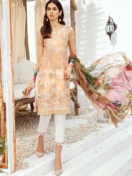 Iznik Chinon Lawn Vol 3 ICL -07 Sundress (3PC)