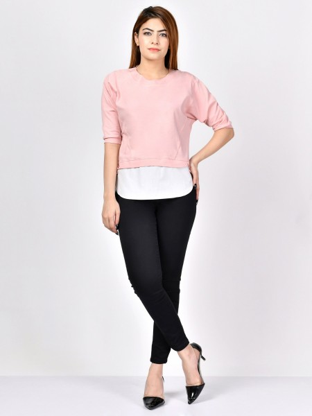 LimeLight Basic T-Tea Pink F1916-LRG-TPK
