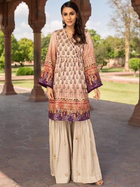 LimeLight Eid Edition Jacquard Shirt U0669-SSH-TPK