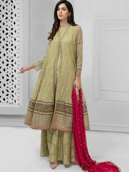 Maria.B Eid Collection Suit Green SF-1690