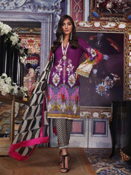 Sana Safinaz Muzlin V2 - 05B - Muzlin'19 Vol-2 - Unstitched Fabric
