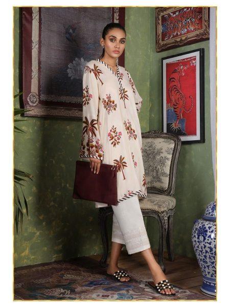 Sana Safinaz S19-UNS-019 - DIY COLLECTION - Unstitched Fabric