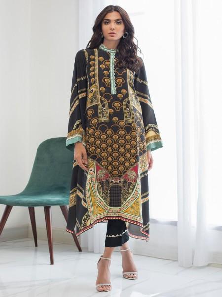 Sania Maskatiya Eid Collection Crepe long tunic PD19RG010