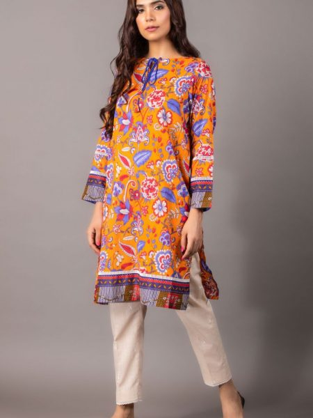 Zeen Woman Zoe Collection Unstitched 1 Piece Printed Lawn 620514