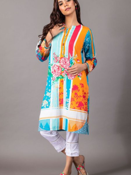 Zeen Woman Zoe Collection Unstitched 1 Piece Printed Lawn 620515
