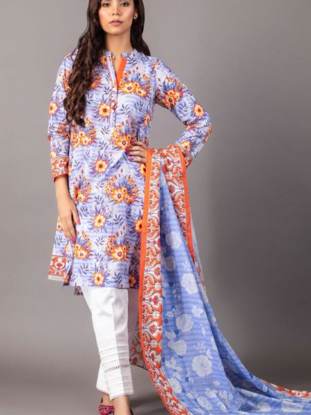 Zeen Woman Zoe Collection Unstitched 2 Piece Printed Lawn 620517