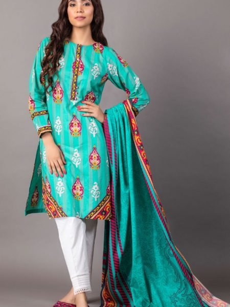 Zeen Woman Zoe Collection Unstitched 2 Piece Printed Lawn 620519