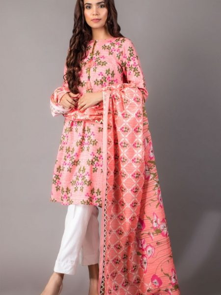 Zeen Woman Zoe Collection Unstitched 2 Piece Printed Lawn 621868