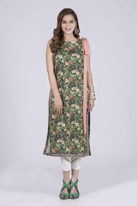 Bonanza Satrangi Cambric Collection DARKEST SPRUCE- 1 PC