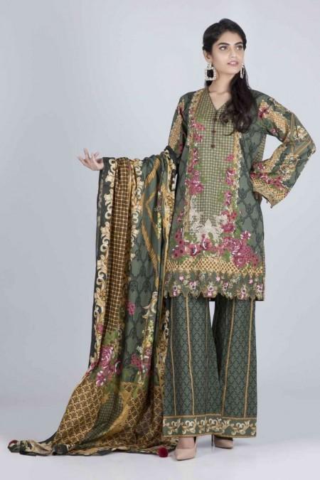Bonanza Satrangi Cambric Collection MAY FLY - 3 PC