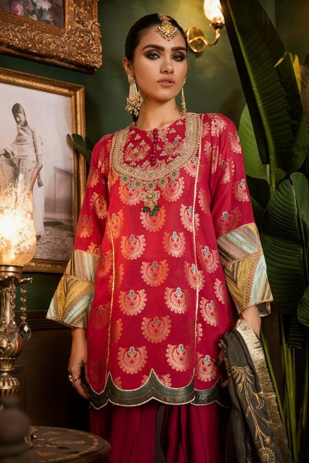 Cross Stitch Eid Jacquard 19 CHAND BAGH-A