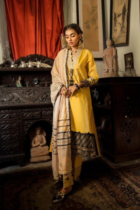 Ethnic by Outfitters Shamim Ara MIMOSA WUC391140-10218126-UH-85