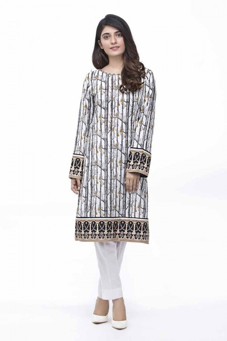 Gul Ahmed Summer Special Edition Black & White SL-777