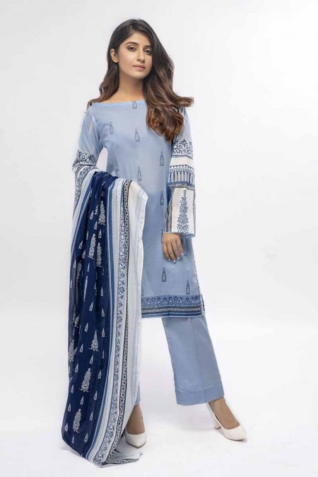 Gul Ahmed Summer Special Edition Blue CL-657 A