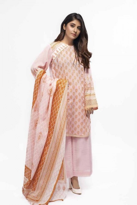 Gul Ahmed Summer Special Edition Light Pink CL-659 A
