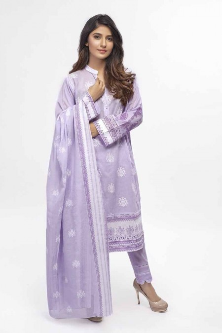 Gul Ahmed Summer Special Edition Lilac CL-656 A