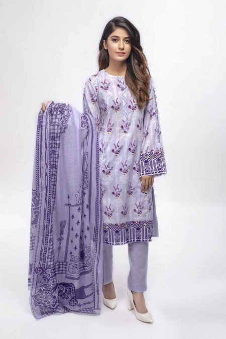 Gul Ahmed Summer Special Edition Purple CL-655 A