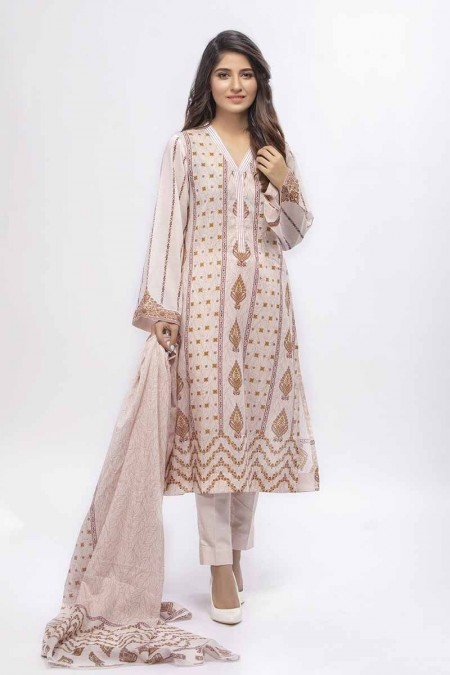 Gul Ahmed Summer Special Edition Tea Pink CL-660 B