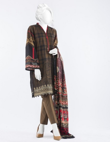 Junaid Jamshed Mid Summer Collection JJPW-S-JPW-19-1001 FB/Aconite J-GL101660