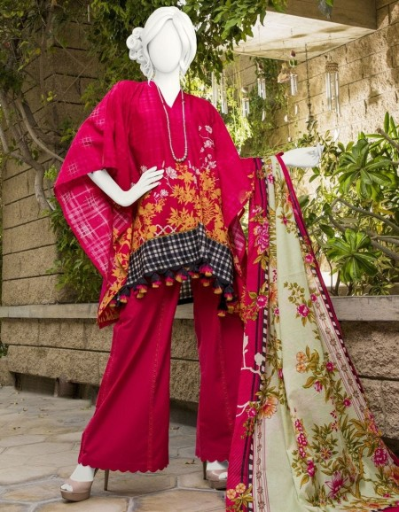 Junaid Jamshed Mid Summer Collection JJPW-S-JPW-19-1004 FB/Periwinkle J-GL101666