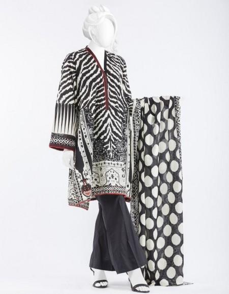 Junaid Jamshed Mid Summer Collection JJPW-S-JPW-19-1006 FB/Animals Texture J-GL101673