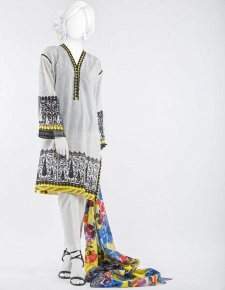 Junaid Jamshed Mid Summer Collection JJPW-S-JPW-19-1011 FB/Rodium J-GL101917