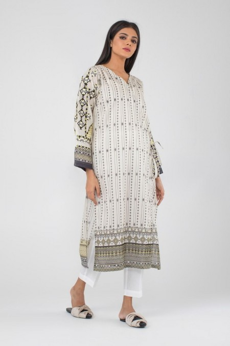Khaadi Pret Collection Embroidered Kurta CTPE19437-Off-White