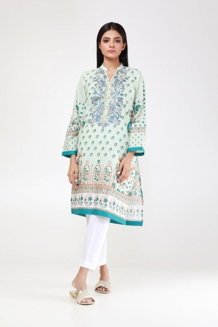 Khaadi Pret Collection Embroidered Kurta ETPE19418-Off-White