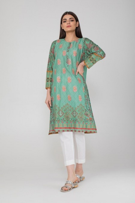 Khaadi Pret Collection Embroidered Kurta ETPE19419-Green
