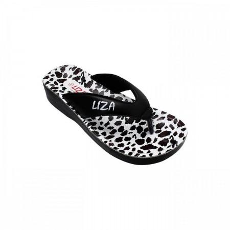 Liza Casual Flip Flops LZ-CU-0025-Black