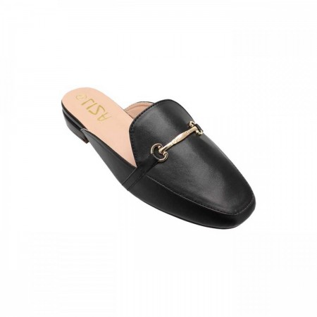 Liza Fancy Mules LZ-FH-0137-Black