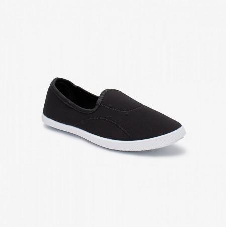 Liza Ladies Walk Shoes LZ-CA-0124-Black
