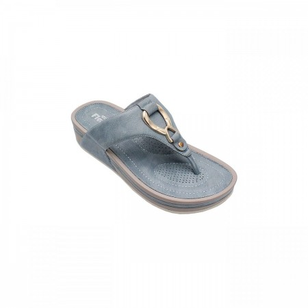 NDURE Buckled Toe Post Chappal ND-CF-0005-Blue