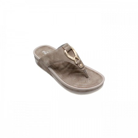 NDURE Buckled Toe Post Chappal ND-CF-0005-Grey