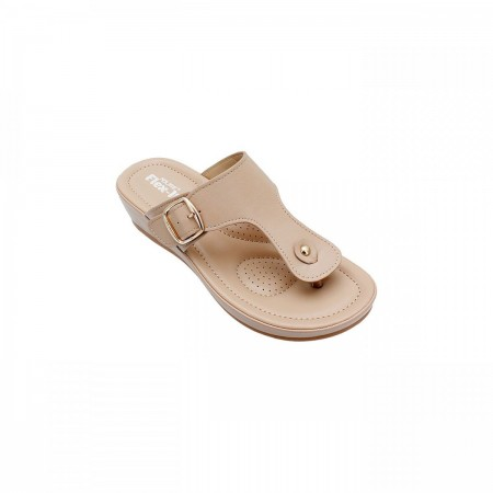 NDURE Casual Summer Toe Post Chappal ND-CF-0004-Beige