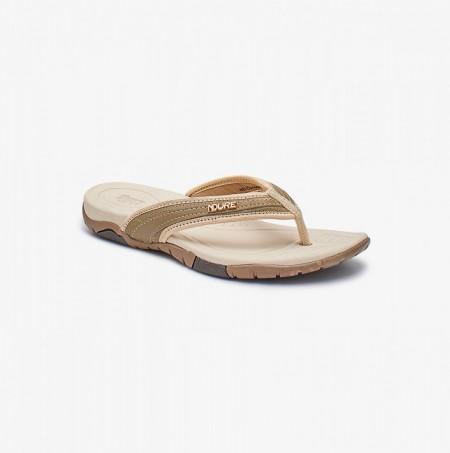 NDURE Comfort Flip Flops ND-CU-0068-BEIGE