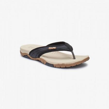 NDURE Comfort Flip Flops ND-CU-0068-BLACK