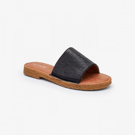 NDURE Fancy Metallic Slides ND-FH-0003-Black