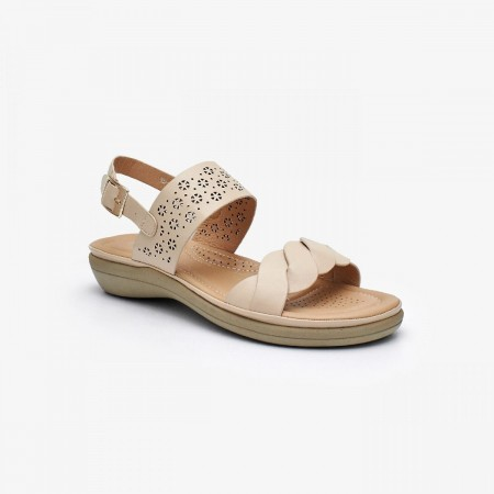 NDURE Ladies Comfort Sandal ND-CF-0013-BEIGE