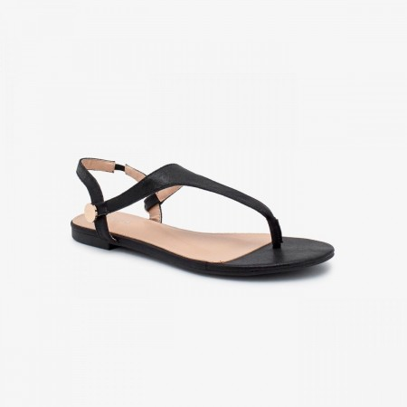 Reeva Classic Ladies Sandal RV-SD-0476-BLACK