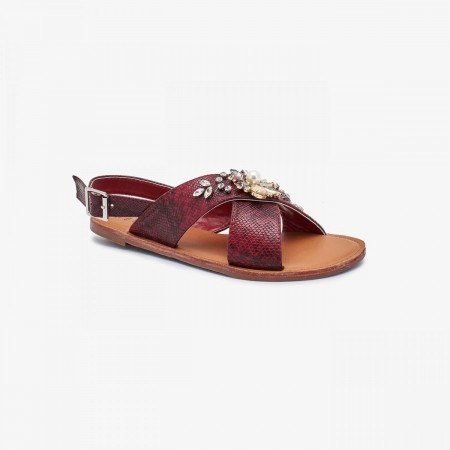 Reeva Ladies Fancy Sandals RV-SD-0471-MAROON