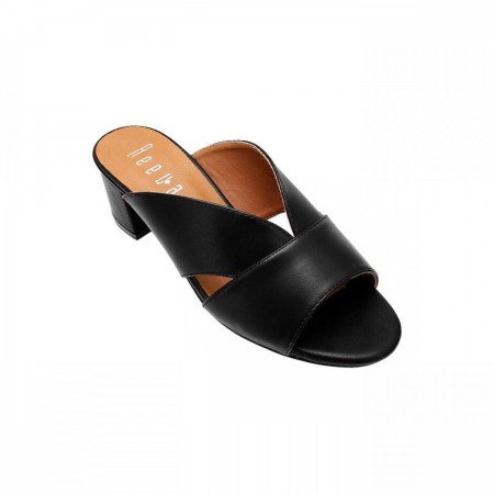 Reeva Open Toe Ladies Sandal RV-CH-0253-Black