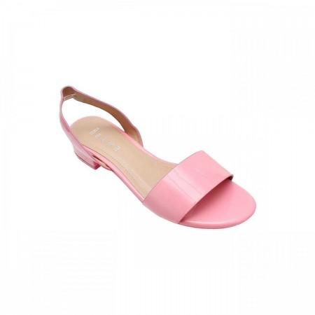 Reeva Patent Slingback Sandal RV-SD-0427-Pink